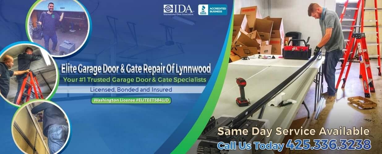 Elite® Garage Door & Gate Repair Of Lynnwood WA & Snohomish County - Main Baner