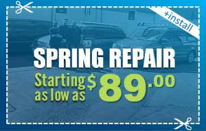 Spring Repair Starting As Low As 89$ Elite Garage Door Of Lynnwood - The Coupons