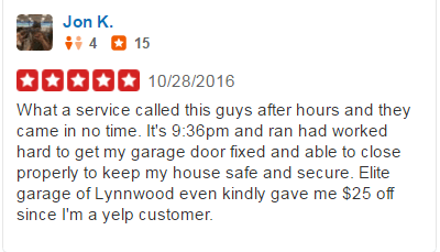 Yelp Reviews - John