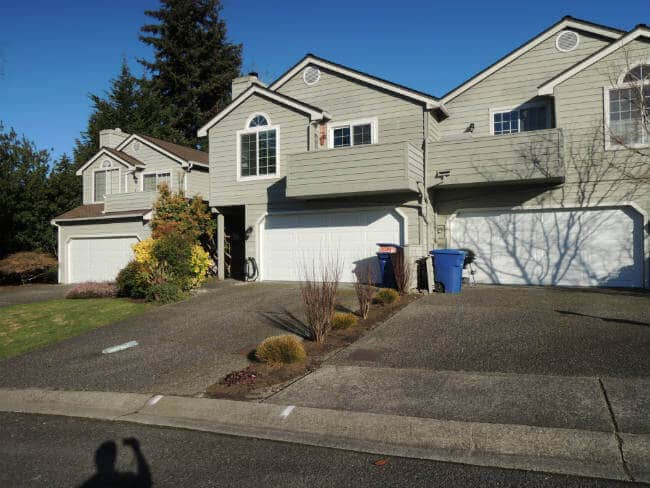 Garage Door Bent Panel Replacement In Edmonds WA By Elite Tech Services, LLC