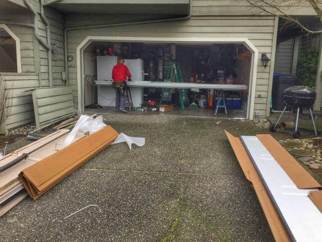 New garage door installation lake stevens elite