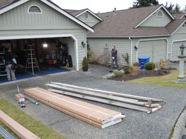 New Garage Door Installation In Woodinville WA By Elite Tech