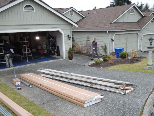 New Garage Door Installation In Woodinville WA By Elite Tech